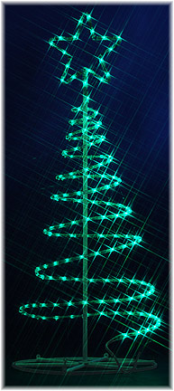 Led ropelight motifs 180cm spiral led ropelight tree 180cm spiral led ropelight tree aloadofball Gallery